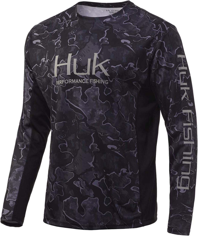 Huk Men's Standard Icon X Rare Camo Phoenix Mall Long S Sleeve Performance Fishing