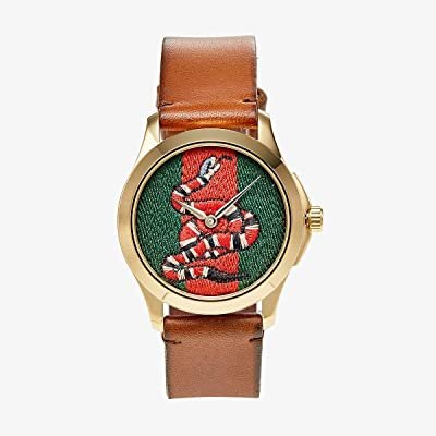 Gucci G-Timeless YA1264012 (Brown) Watches