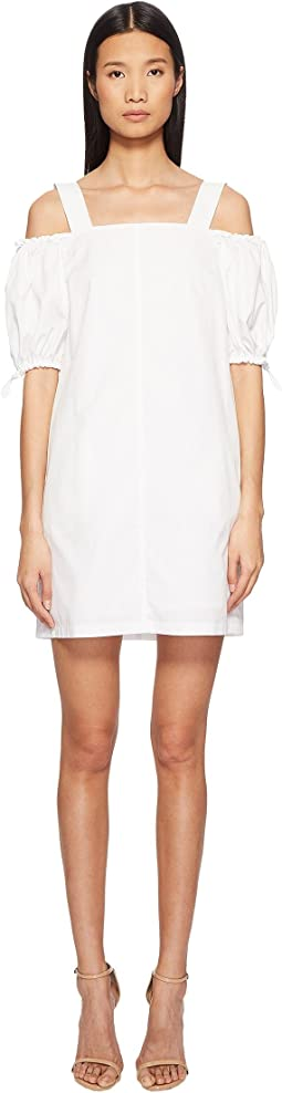 Sportmax - Cina Cold Shoulder Puff Short Sleeve Dress