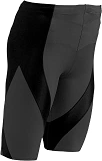 CW-X Men's Pro Shorts (Black/Navy, Medium)