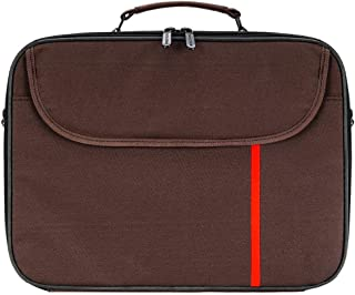 Laptop bag, Shoulder Laptop Bag size 15.6 inch, Brown DZ-2050