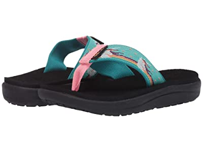 Teva Kids Voya Flip (Little Kid/Big Kid) (Unicorn Waterfall) Kid