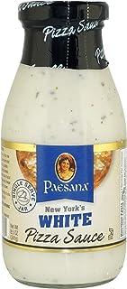 Paesana New York's White Pizza Sauce, Gluten Free, Kosher Dairy, 8.5 OZ - Made in the USA.