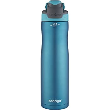 Contigo AutoSeal Chill Water Bottle, 24 oz, Scuba