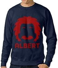Reality Is Merely An Illusion Albert Art O-Neck Printing Hoodie Sweatshirt Man