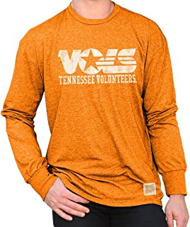 NCAA Mens Retro Long Sleeve Shirt Soft