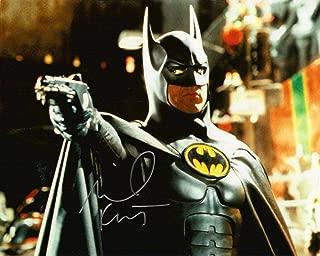 TIM BURTONS BATMAN 1989 Signed REPRINT 8x10 inch photograph Reprinted from Original JOKER Jack Nicholson Michael Keaton 02