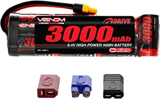 Venom 8.4V 3000mAh 7-Cell NiMH Battery Flat Pack with Universal Plug 2.0 (Traxxas / Deans / EC3)