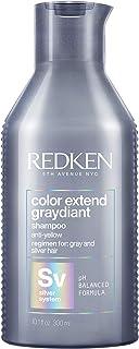 Redken Color Extend Graydiant Shampoo Professionale Anti-giallo 300 ml | Capelli Grigi | Combatte i riflessi gialli dei ca...
