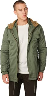 The Critical Slide Society Men's Wanderer Mens Jacket Cotton Nylon Green