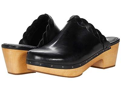 Frye Mille Braid Mule (Black Soft Oily Leather) Women