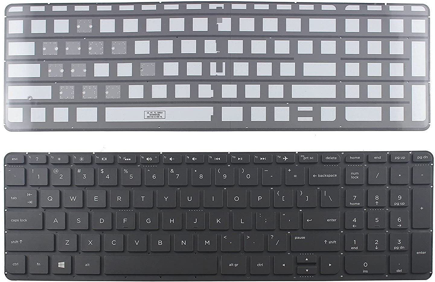 Ellenbogenorthese-LQ New US Backlit HP Department store with Max 58% OFF Keyboard Compatible