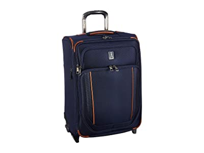 Travelpro 23 Crew Versapack Max Carry-On Expandable Rollaboard (Patriot Blue) Luggage