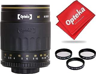 Opteka 500mm f/8 High Definition Telephoto Mirror Lens for Canon EOS 80D, 77D, 70D, 60D, 60Da, 50D, 7D, 6D, 5D, 5DS, 1DS, ...