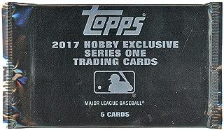 2017 Topps Series 1 Baseball Silver Pack
