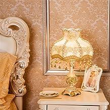 European Table lamp Bedroom Bedside lamp Light Switch,D