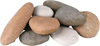 Peterson Real Fyre Decorative Assorted River Rock Fyre Stones