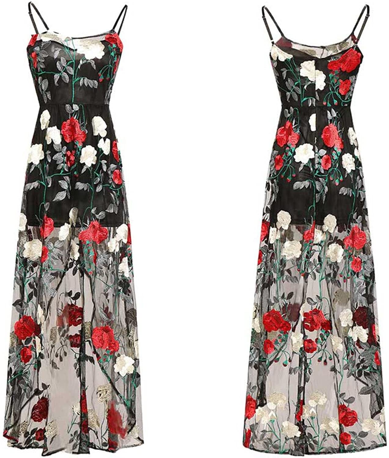 Gorgioous Summer Women Long Dress Printing Vestidos Sleeveless Elegant Dress