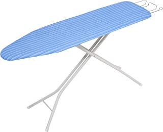 """Honey-Can-Do BRD-01956 Quad Leg Ironing Board with Retractable Iron Rest , 29""""-36"""" , Blue"""