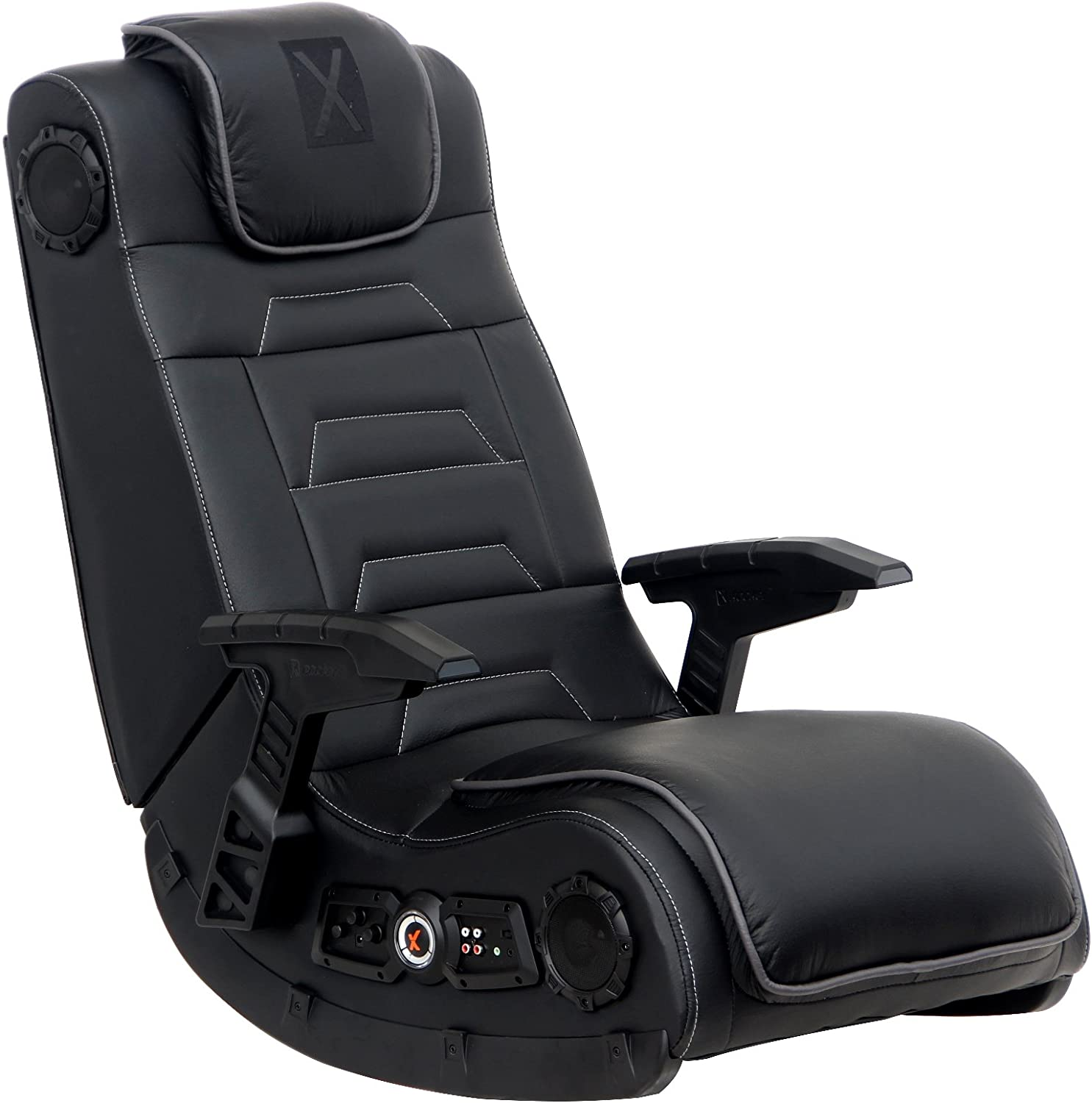 X Rocker Pro 2021new shipping free Series H3 Black latest Gamin Video Leather Vibrating Floor