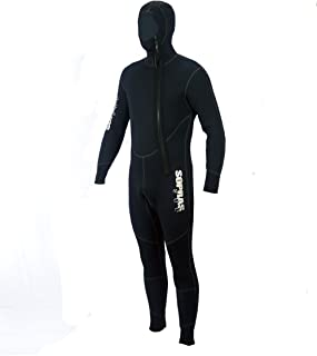 "Sopras Sub /""Amalfi/"" 5mm Hooded Jumpsuit Wetsuit Scuba Diving Size LG Freediving"