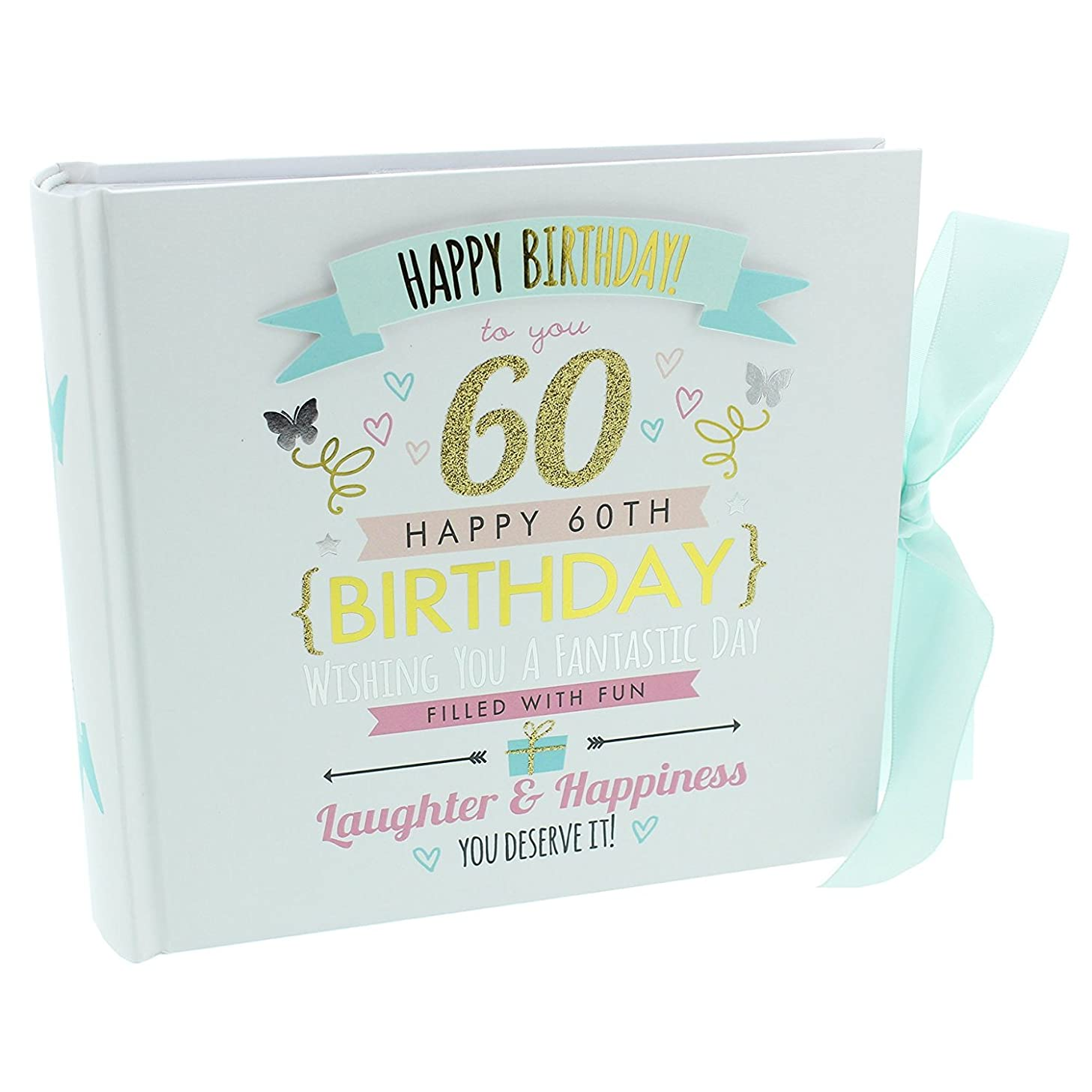 Oaktree Gifts 60th Birthday Girl Photo Album Hold 4 x 6