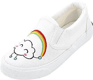 [Henraly] キュートキャンバス靴印刷mom-daughterフラットシューズローファー(Toddler/Little Kid/Big Kid/Womens)