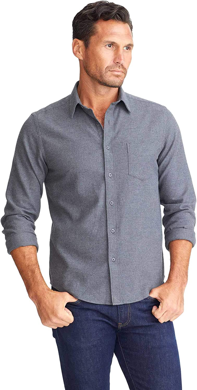 UNTUCKit Sherwood - Untucked Shirt for Men, Long Sleeve