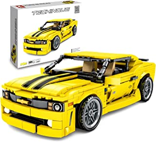 Symbol inFUNity Technic Speed Champions Camaro Bumblebee Building Blocks (558 PCS) Parts Compatible with Lego Technic