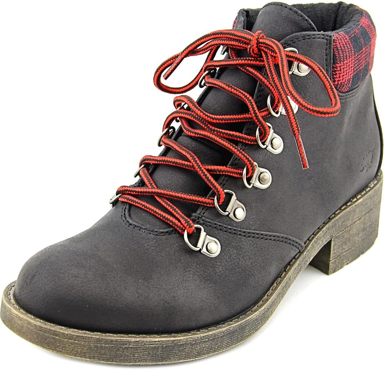 Rocket Dog Timber Graham Women US 7 Black Ankle Boot