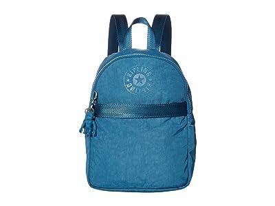Kipling Imer Small Backpack (Mystic Blue FC) Backpack Bags
