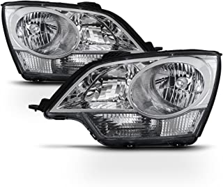 For 2008-2010 Saturn Vue   12-14 Chevy Captiva Sport Driver & Passenger Side OE Direct Replacement Headlights Lamps