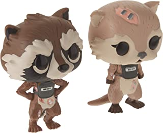 Funko Pop! Marvel Games: Guardians of The Galaxy Telltale Series Rocket & Lylla 2Pk Collectible Figure
