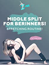 Middle split for berinners! Stretching routine!