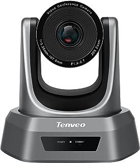 Tenveo専門店 NV20U|web会議カメラ 20倍光学ズーム 1080p skype会議用 ウェブカメラ USB接続 三脚取付可能 PTZ webカメラ 60fps