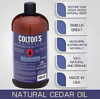 cedar wood oil benefits