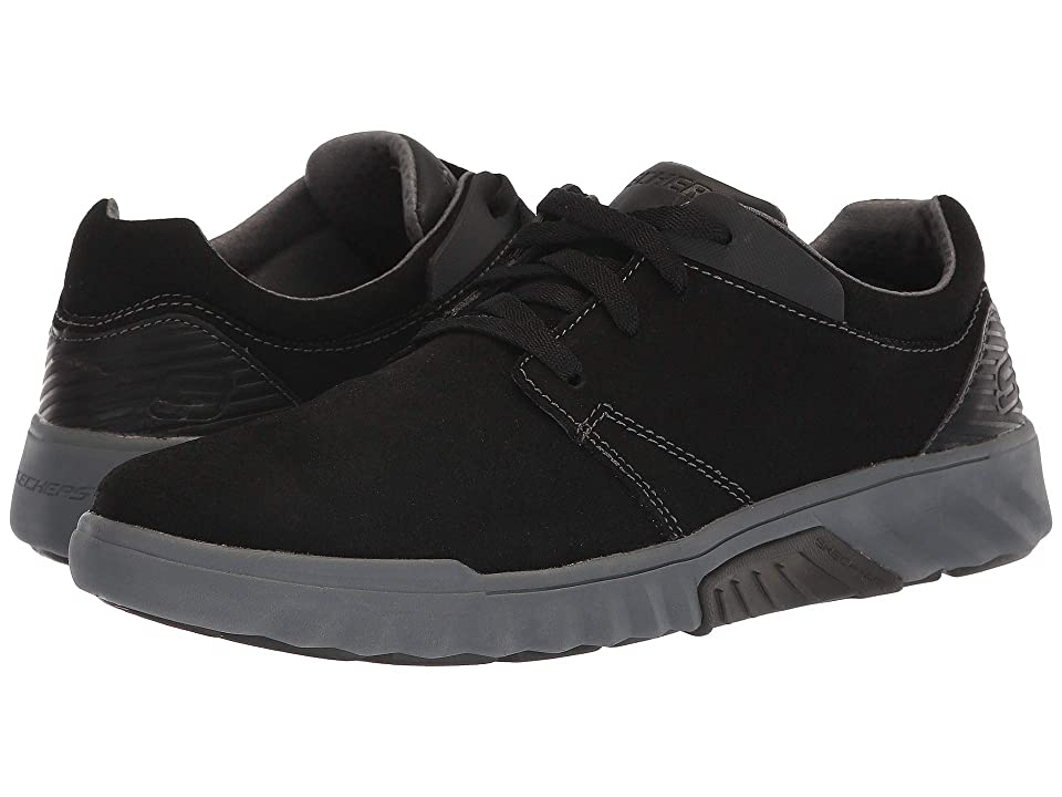 SKECHERS Classic Fit(r) Ryler Cenelo (Black/Charcoal) Men