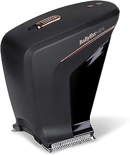BaByliss MEN SC758E Cortapelos fácil y rápido, para cortarte el pelo a ti mismo, doble cuchilla, 75 minutos de autonomía, longitudes de 0.3 a 13mm, guías de corte para las orejas