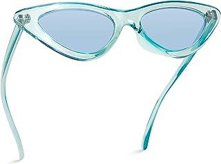 Retro Vintage Tinted Lens Cat Eye Sunglasses