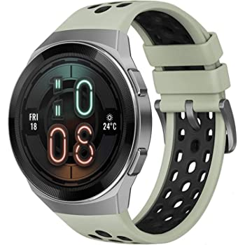 HUAWEI Watch GT 2e Bluetooth SmartWatch, Sport GPS 14 Days Working Fitness Tracker, Heart Rate Tracker, Blood Oxygen Monitor, Waterproof for Android and iOS, 46mm Mint Green
