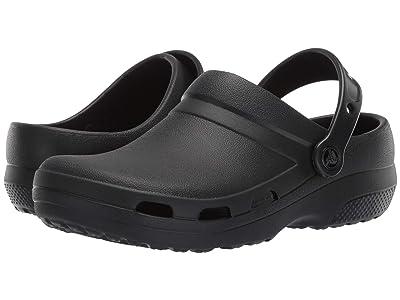 Crocs Work Specialist II Vent Clog (Black) Shoes