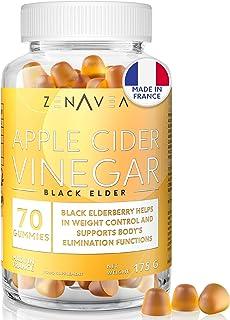 Appelciderazijn gummies - gewichtsverlies en anti-vermoeidheid voedingssupplement - 70 gummies - 1 maand behandeling - hee...