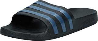 adidas Adilette Aqua, Unisex Adults Slides, Black (Core Black/Legend Marine/Core Black), 8 UK (42 EU)