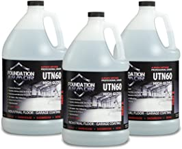 3 Gal. UTN60 Clear High Gloss Aliphatic Urethane Concrete and Garage Floor Coating With Oil, Gas, and Scratch Resistance
