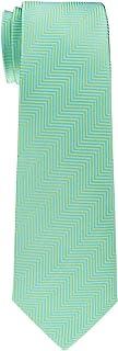 Retreez Herringbone Stripe Woven Boy's Tie - 8-10 years - Various Colors