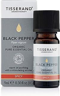 Tisserand Organic Pure Black Pepper Essential Oil, 9 ml