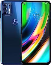 Motorola Moto G9 Plus | Unlocked | International GSM only | 4/128GB | 64MP Camera | 2019 | Blue Indigo, 169.98 x 78.1 x 9....