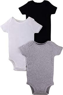 Lamaze Baby Boys Organic 3 Pack Longsleeve Bodysuits