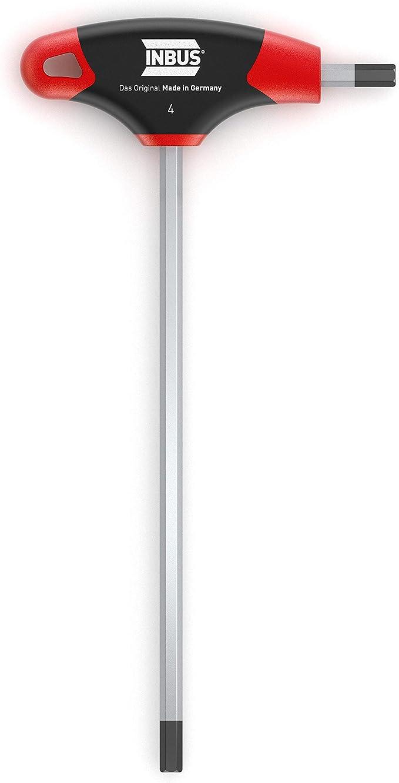 744 opinioni per INBUS® 70075 Chiavi a Brugola con impugnatura a T 4mm, con HybridTouch — Made in
