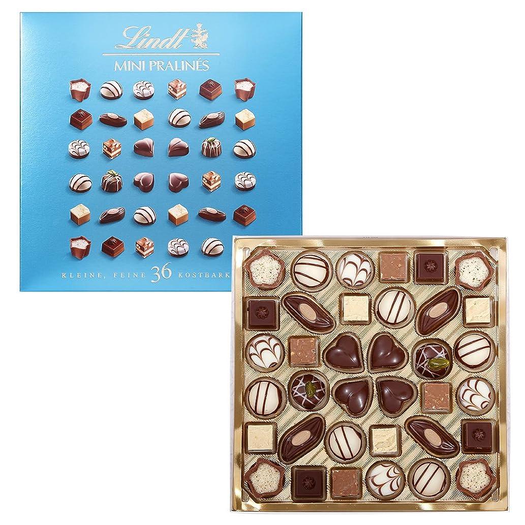 リンツ チョコレート (Lindt) ミニプラリネ 180g グリーン ショッピングバッグM付